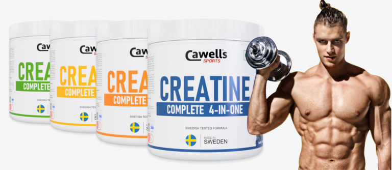 Cawells Creatine 4-IN-ONE