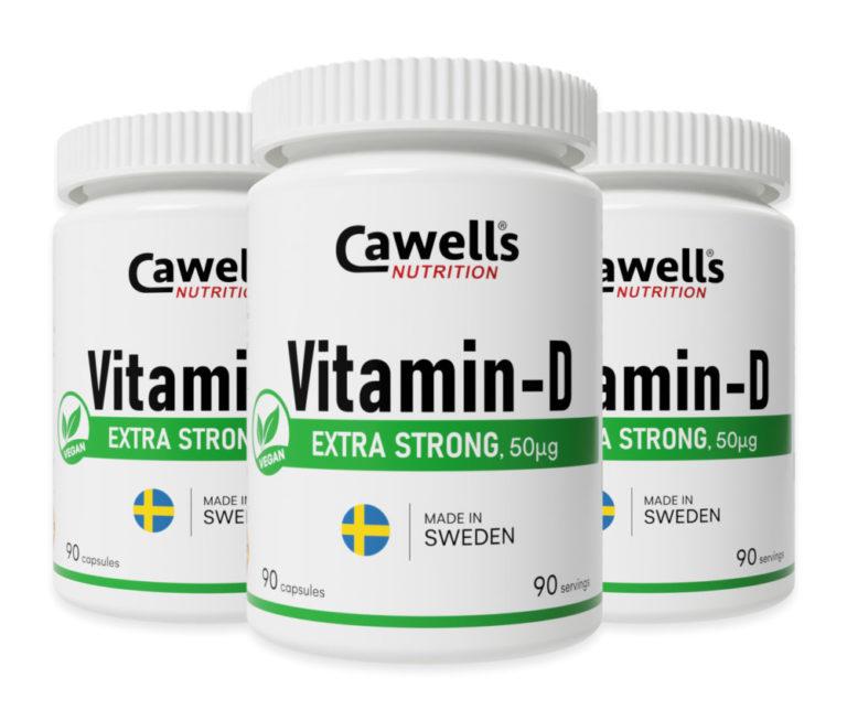 Cawells Vitamin-D, Vegan